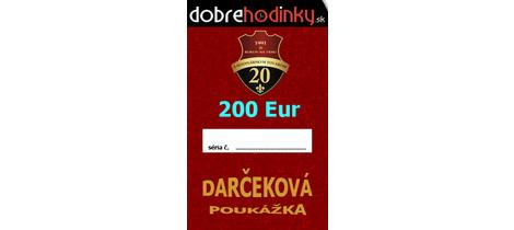 Darcekova poukazka 200 euro 6351