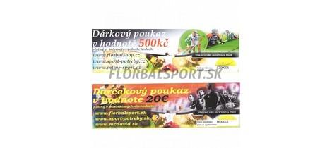 11829 darkovy poukaz 20 eur