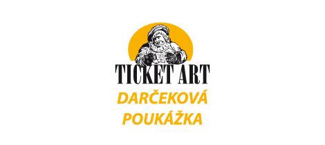 Ticket art darcekova poukazka