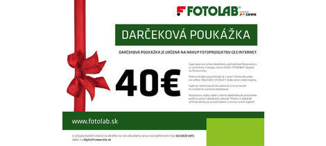 Darcekova poukazka fotoprodukty 40