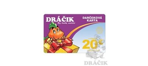 Darcekova karta 20 original