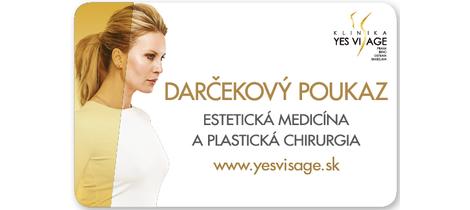 Yes visage darcekova karta 38