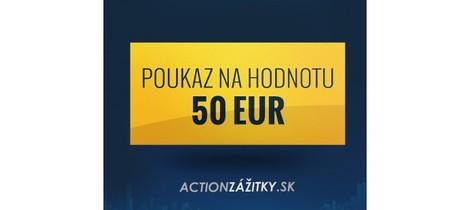 Poukaz v hodnote 50 eur