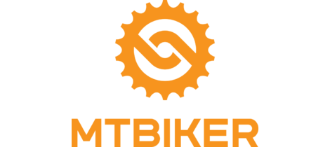 Mtbiker orange vertical