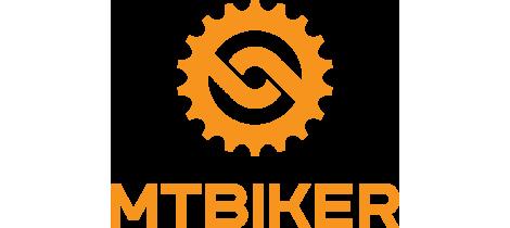Mtbiker orange vertical